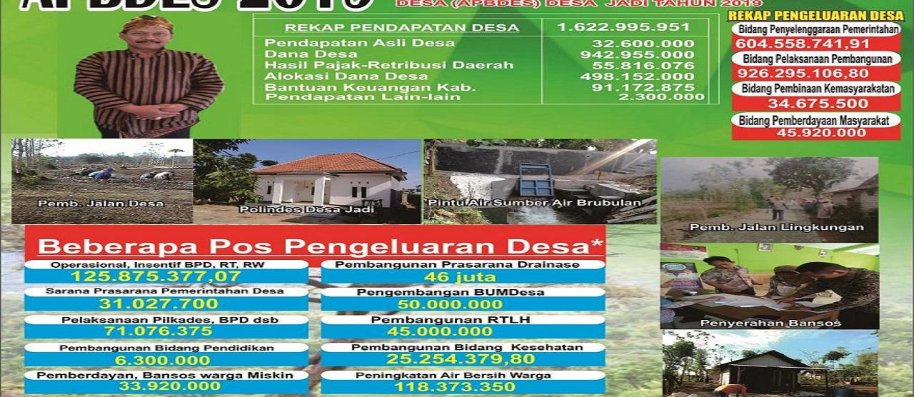 APBDesa 2019 Desa Jadi