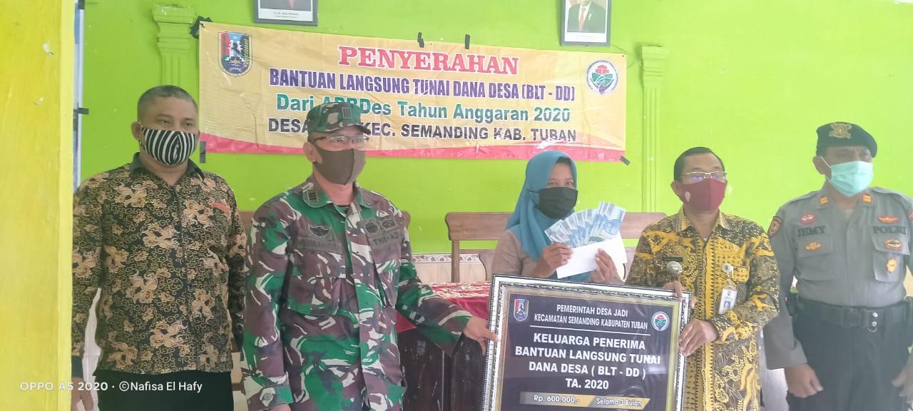 Desa Jadi Melaksanakan Penyerahan BLT-DD